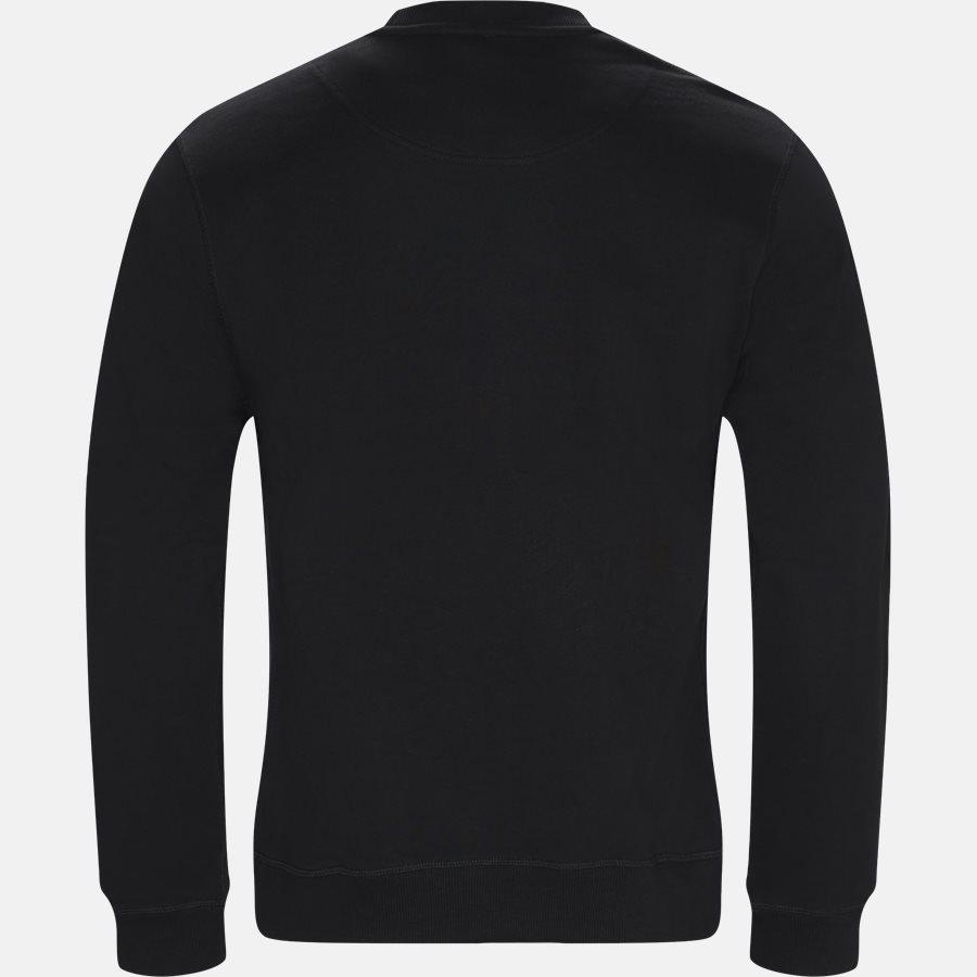 F865SW0014XV - Sweatshirts - Regular slim fit - BLACK - 2