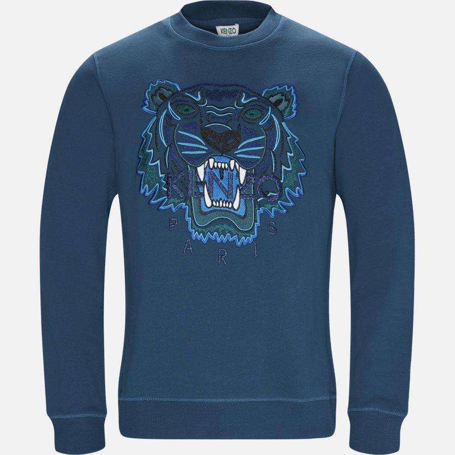F865SW0014XV - Sweatshirts - Regular slim fit - PETROL - 1