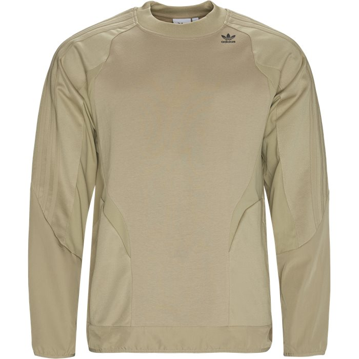 Sweatshirt  - Sweatshirts - Regular fit - Sand