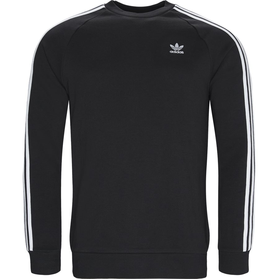 3-STRIPES CREW DV1555 - 3-Stripes Crew - Sweatshirts - Regular fit - SORT - 1