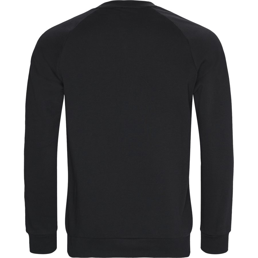 3-STRIPES CREW DV1555 - 3-Stripes Crew - Sweatshirts - Regular fit - SORT - 2