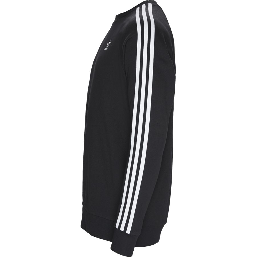 3-STRIPES CREW DV1555 - 3-Stripes Crew - Sweatshirts - Regular fit - SORT - 3