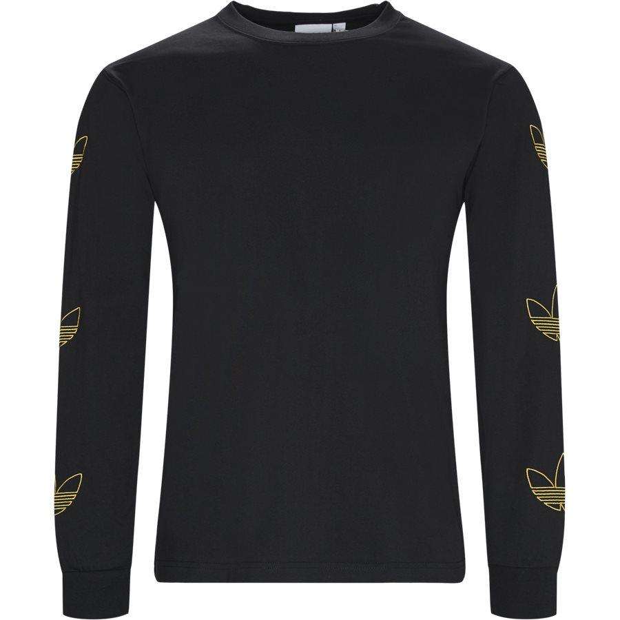 LS TREFOIL DV315 - LS Trefoil - T-shirts - Regular - SORT - 1