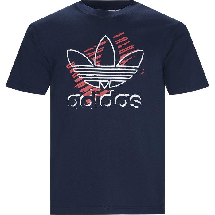 Trefoil Art  - T-shirts - Regular - Blå