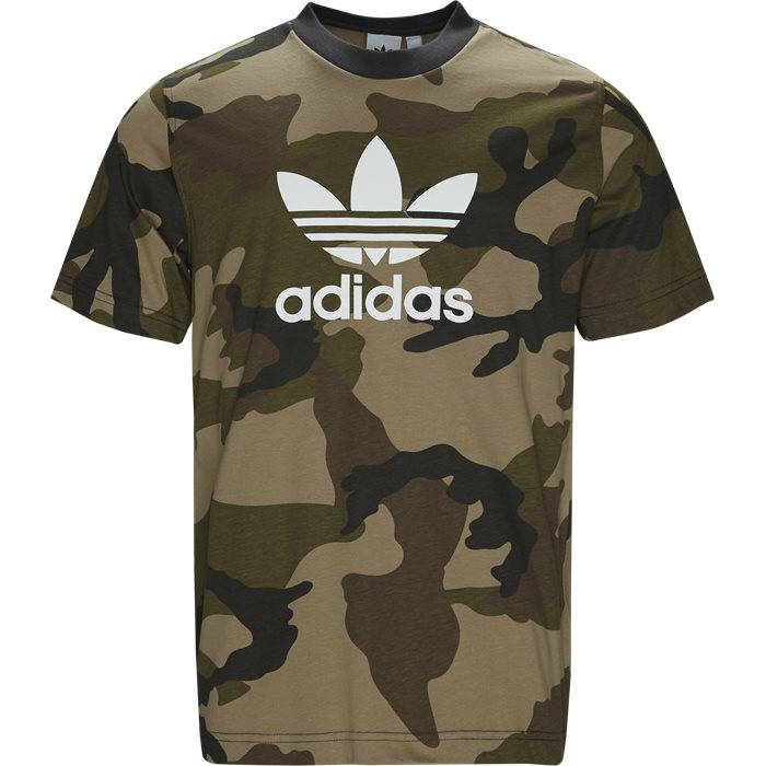 Camo Tee - T-shirts - Regular - Army