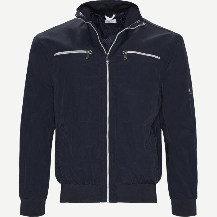 Manzoni Vindjakke - Jakker - Regular - Blå