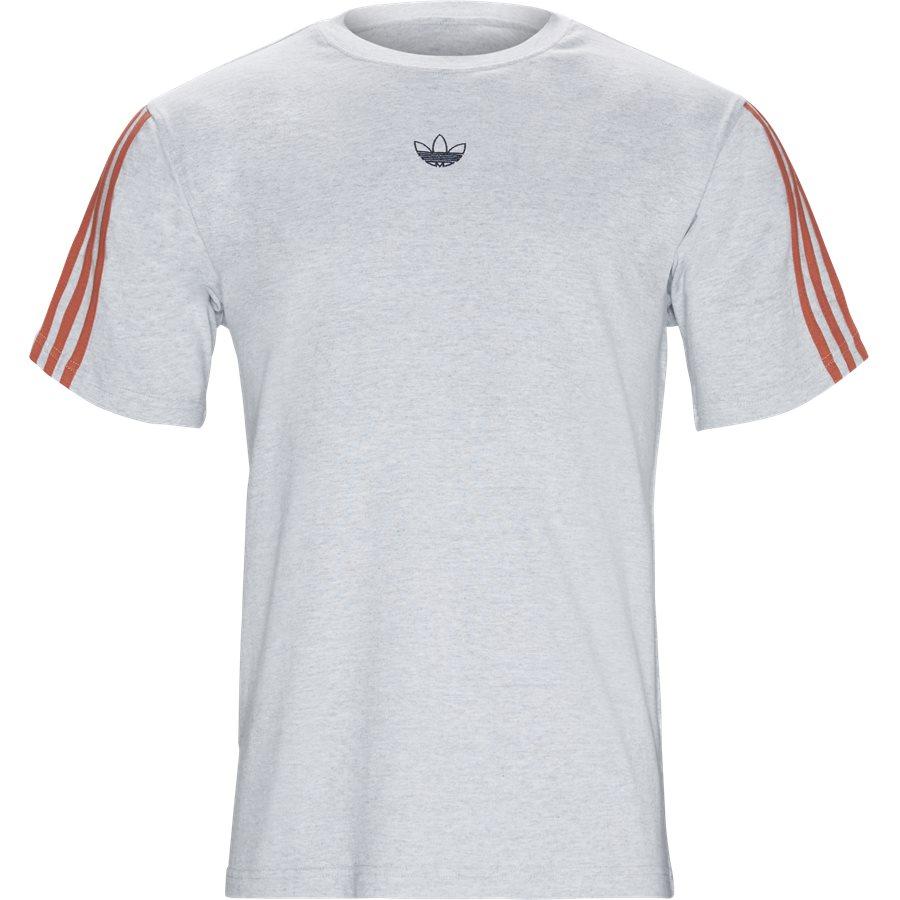 FLOATING DV326 - Floating - T-shirts - Regular - GRÅ - 1