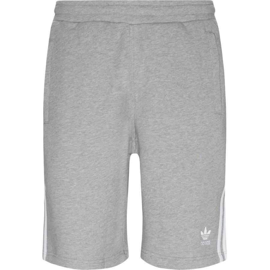 3-STRIPE SHORTS DH5 - 3 Stripe Shorts - Shorts - Straight fit - GRÅ - 1