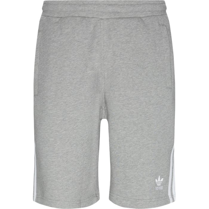3 Stripe Shorts - Shorts - Straight fit - Grå