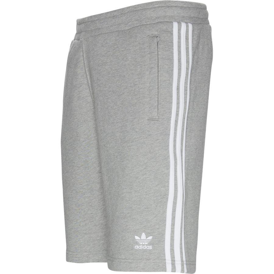 3-STRIPE SHORTS DH5 - 3 Stripe Shorts - Shorts - Straight fit - GRÅ - 4