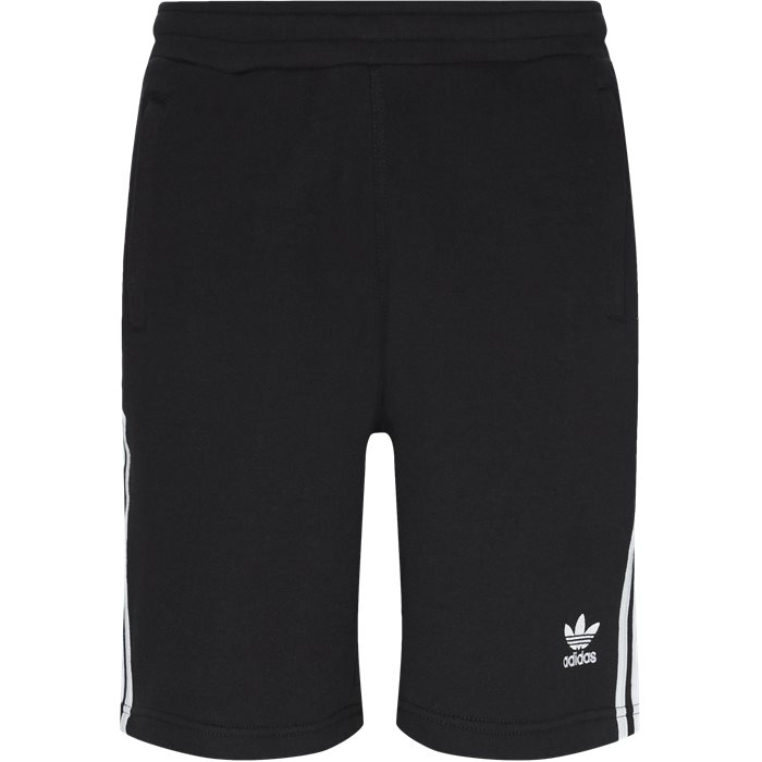 3 Stripe Shorts - Shorts - Straight fit - Sort