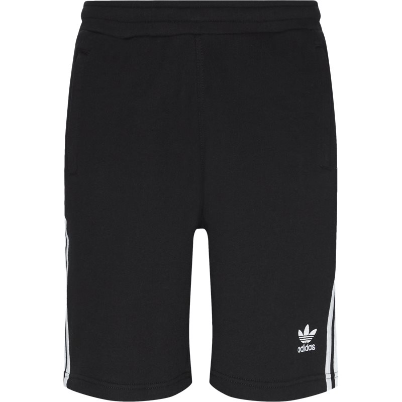 Adidas originals 3 stripe shorts sort fra adidas originals på quint.dk