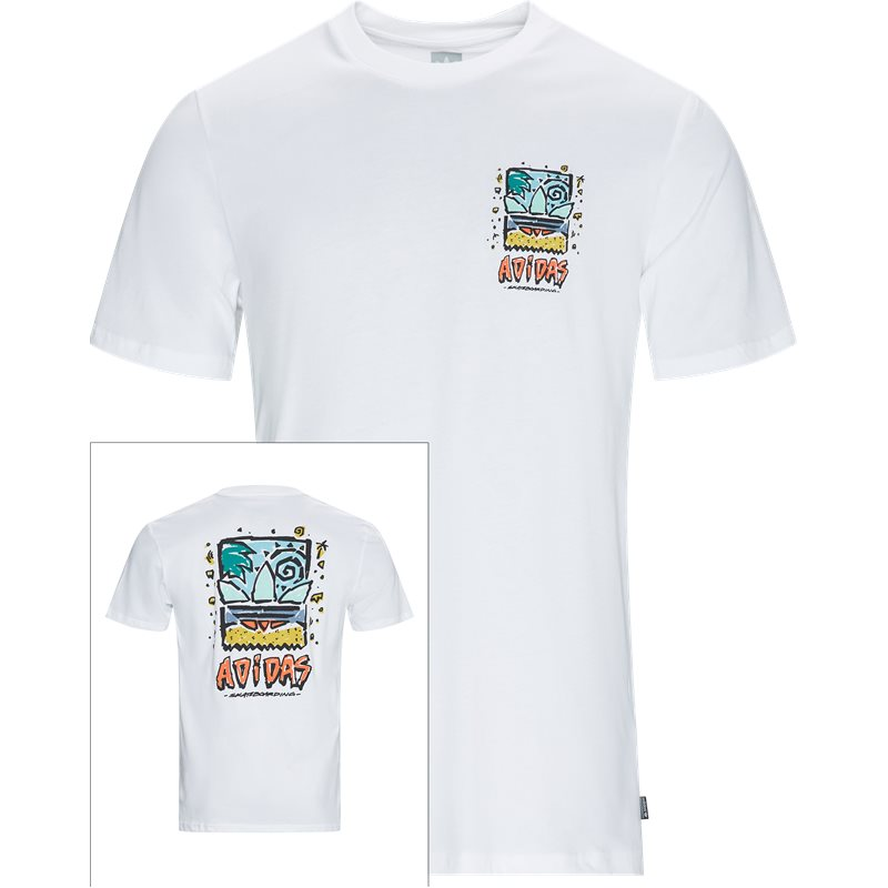 Image of   Adidas Originals Roanoke T-shirt Hvid