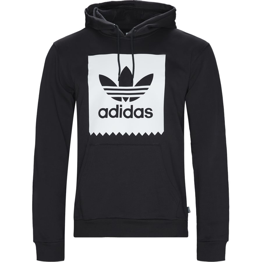BB HOOD CW2358 - BB Hoodie - Sweatshirts - Regular - SORT - 1