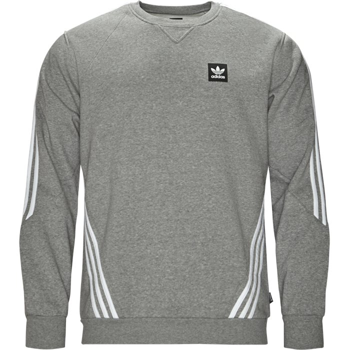 Insley Crew - Sweatshirts - Regular fit - Grå