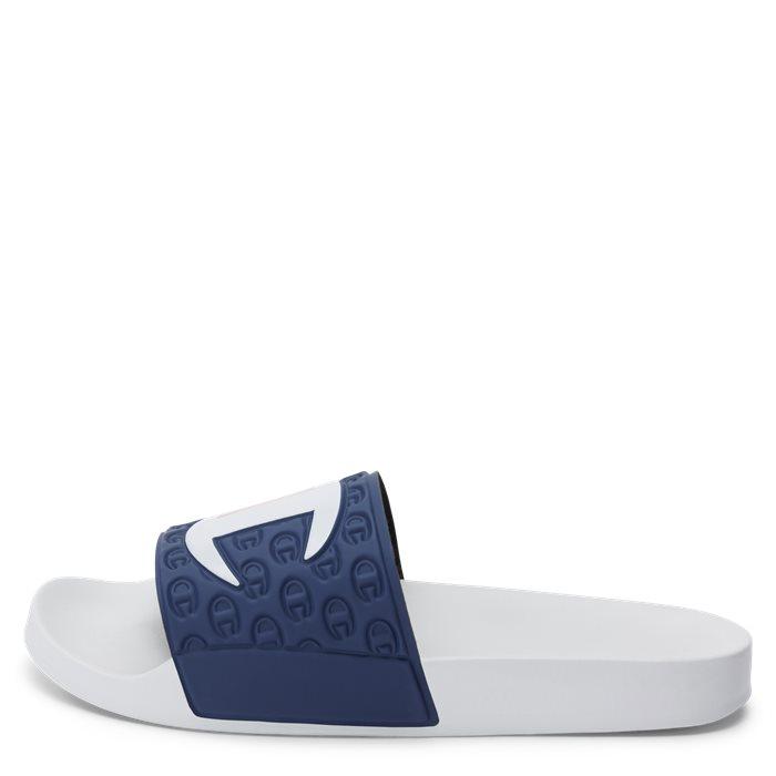 Slide Sandal - Sko - Hvid