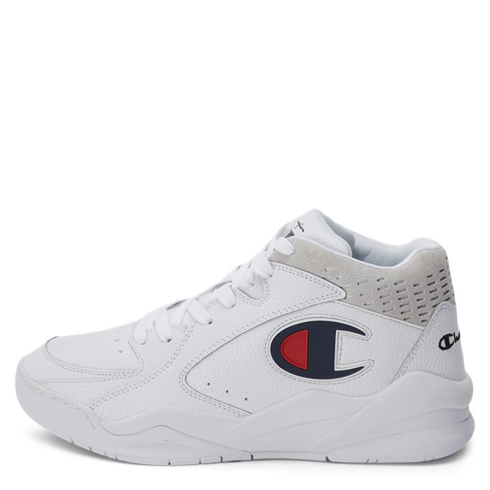 Zone Mid Sneaker - Sko - Hvid