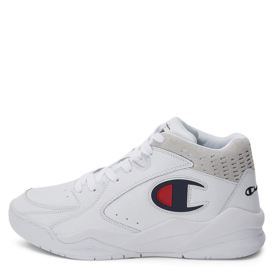 ZONE MID S20878 - Zone Mid Sneaker - Sko - HVID - 1