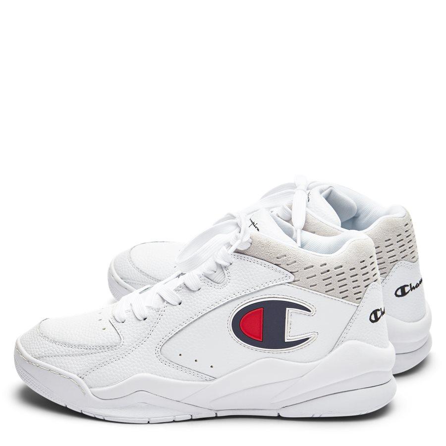 ZONE MID S20878 - Zone Mid Sneaker - Sko - HVID - 3