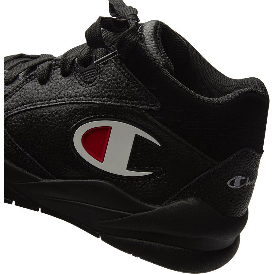 ZONE MID S20878 - Zone Mid Sneaker - Sko - SORT - 5