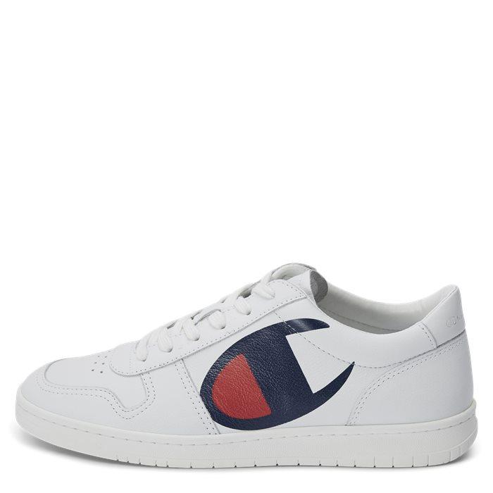 Low Cut Shoe - Sko - Hvid