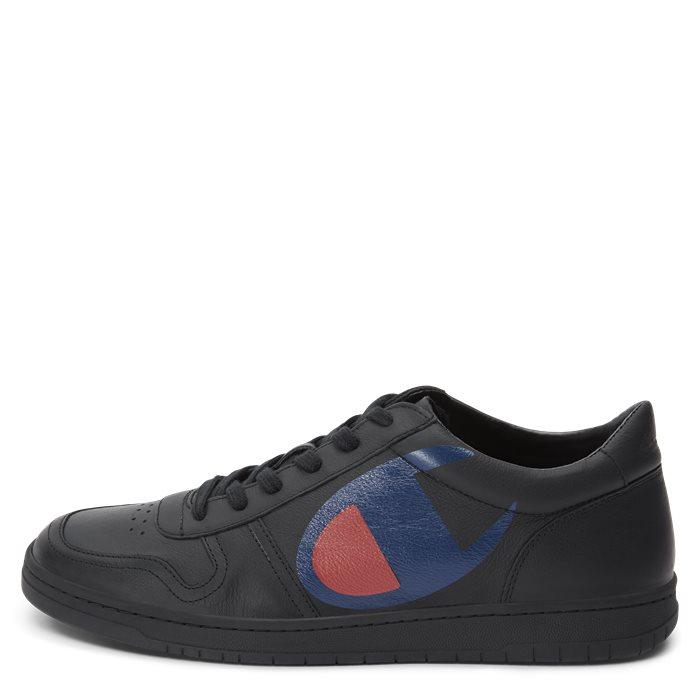 Low Cut Shoe - Sko - Sort