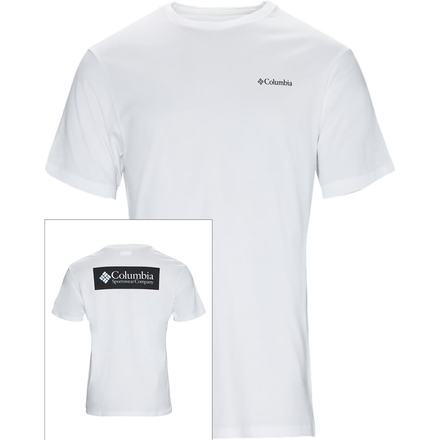 1834041 BOX - T-shirts - Regular - HVID - 1