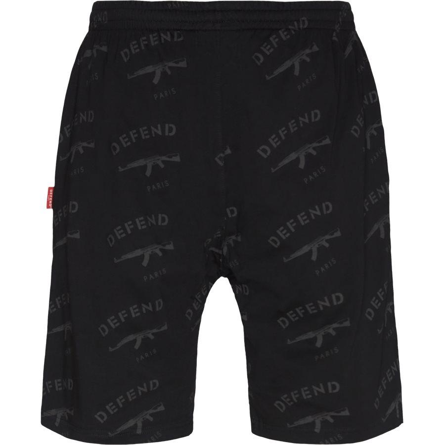 ALCAMO SHORTS - Alcamo Shorts - Shorts - Regular - SORT/SORT - 2