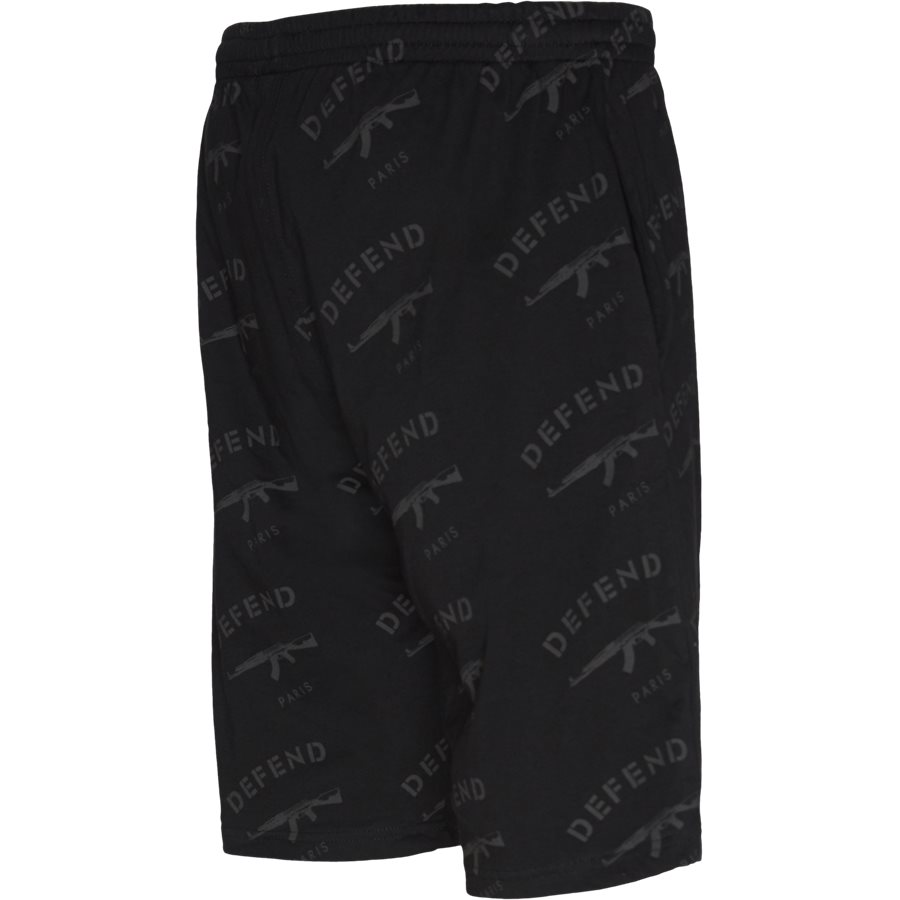 ALCAMO SHORTS - Alcamo Shorts - Shorts - Regular - SORT/SORT - 3
