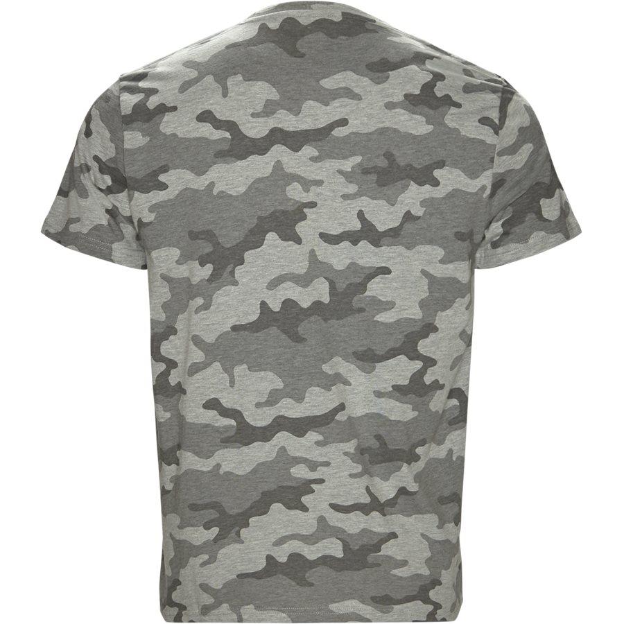 RUBBER TEE - Rubber Tee  - T-shirts - Regular - GRÅ - 2