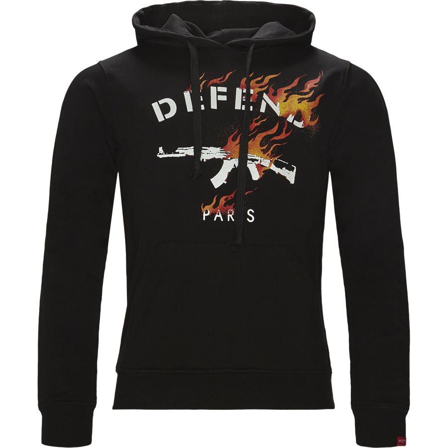 FIRE HOOD - Fire Hood - Sweatshirts - Regular - SORT - 1