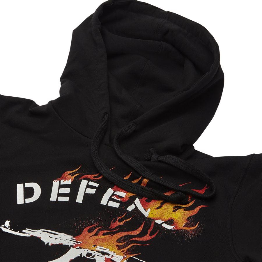 FIRE HOOD - Fire Hood - Sweatshirts - Regular - SORT - 3