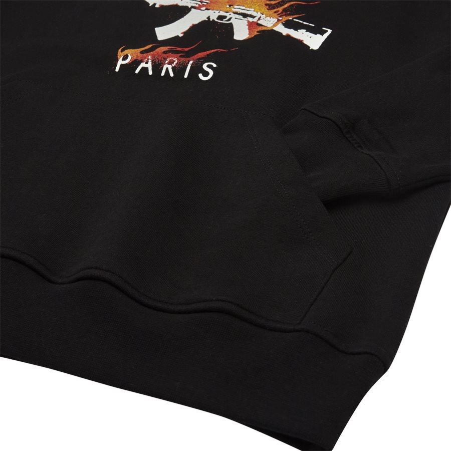 FIRE HOOD - Fire Hood - Sweatshirts - Regular - SORT - 4