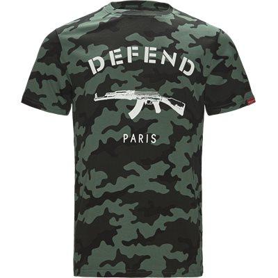 Paris Tee Camo Regular fit   Paris Tee Camo   Army