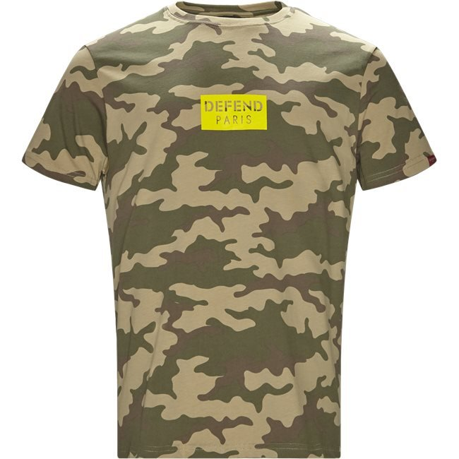 Q-Paris Tee Box Camo