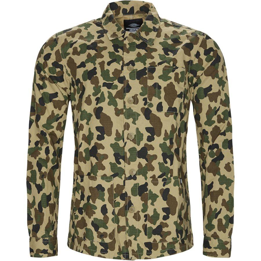KEMPTON - Kempton Shirt - Skjorter - Regular - CAMO - 1