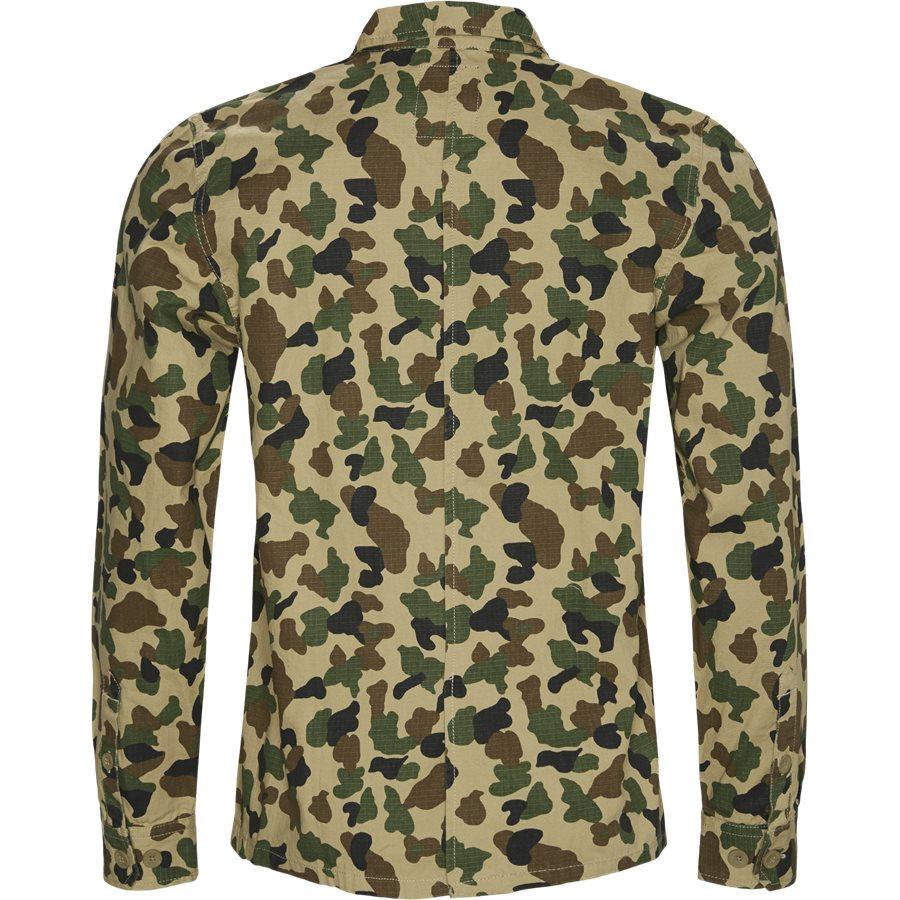 KEMPTON - Kempton Shirt - Skjorter - Regular - CAMO - 2