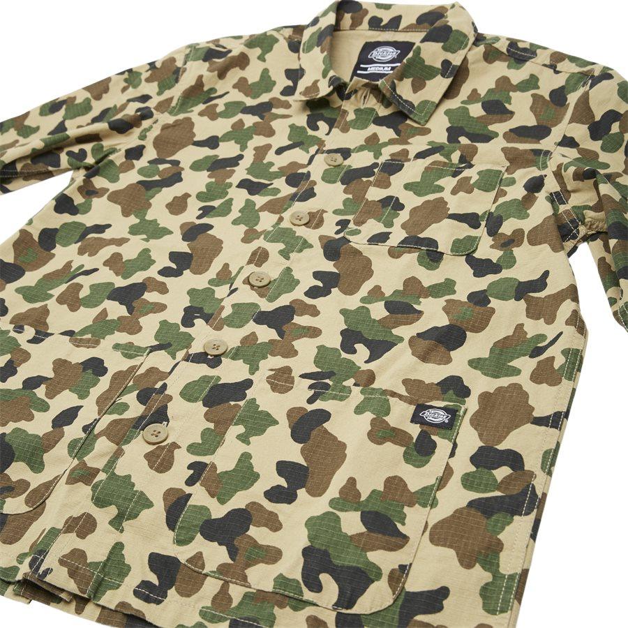 KEMPTON - Kempton Shirt - Skjorter - Regular - CAMO - 3