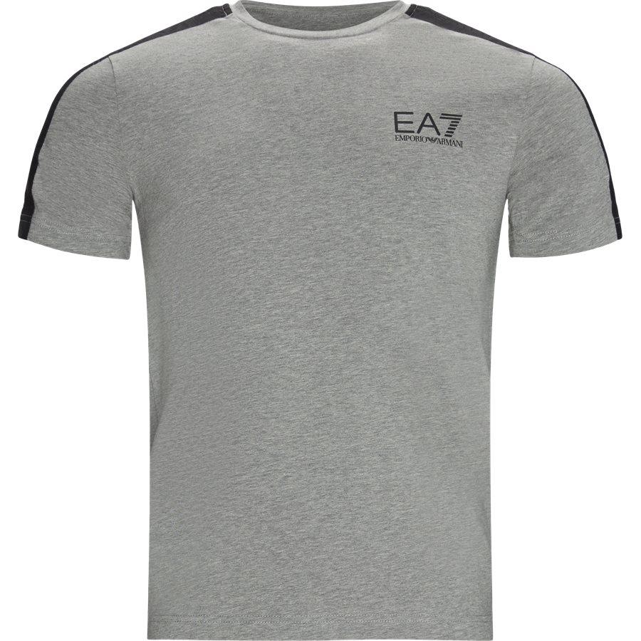 PJ03Z-3GPT07 - PJ03Z T-shirt - T-shirts - Regular - GRÅ - 1