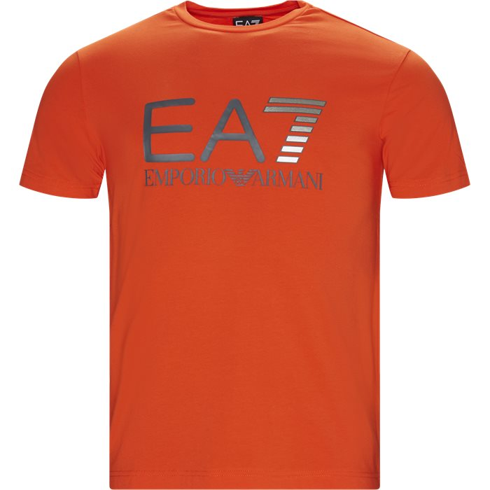 T-shirts - Regular fit - Orange