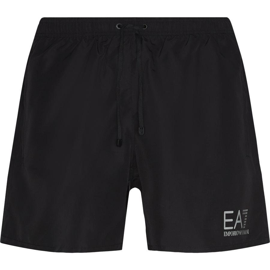 CC721-902000. - CC721 Badeshorts - Shorts - Regular - SORT - 1