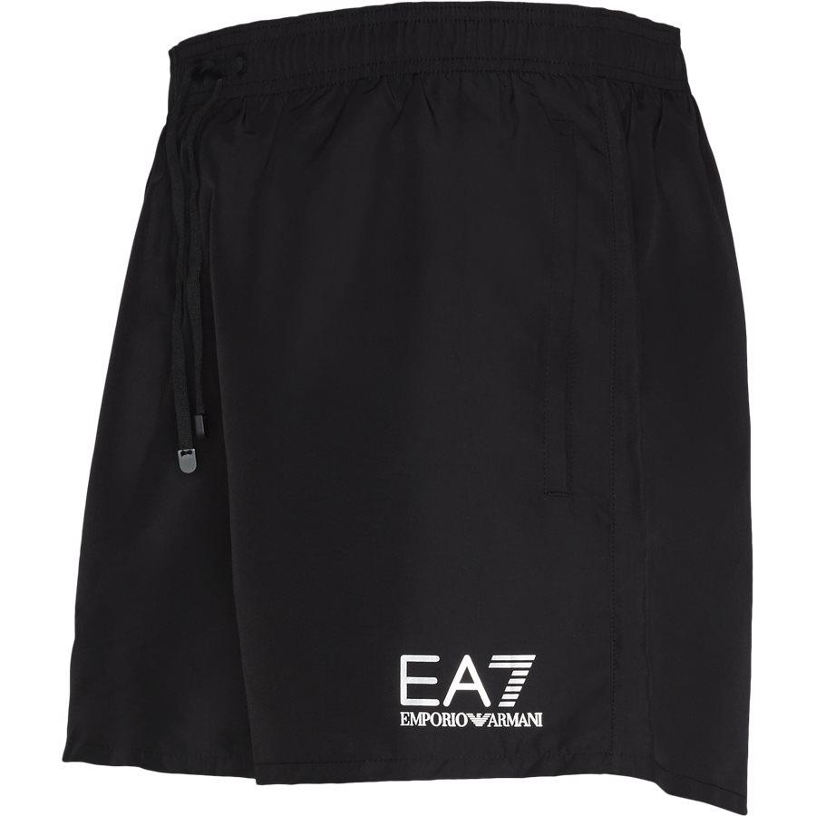 CC721-902000 - CC721 Badeshorts - Shorts - Regular - SORT - 4