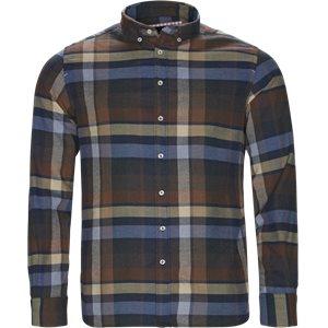 Wooden Flanel Shirt Casual fit   Wooden Flanel Shirt   Brun