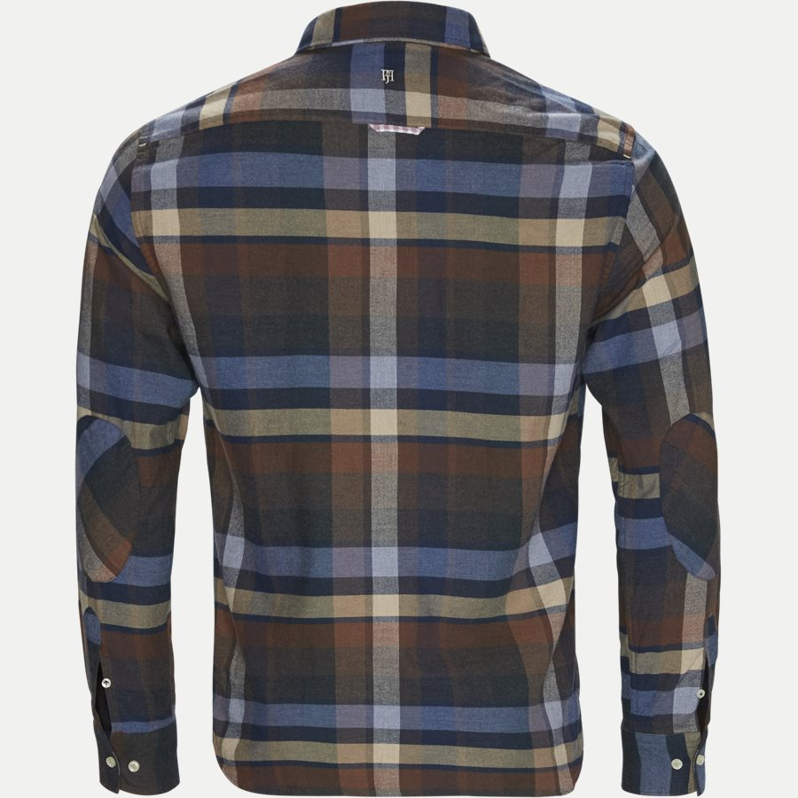 04528 WOODEN FLANEL SHIRT - Wooden Flanel Shirt - Skjorter - Casual fit - BRUN - 2