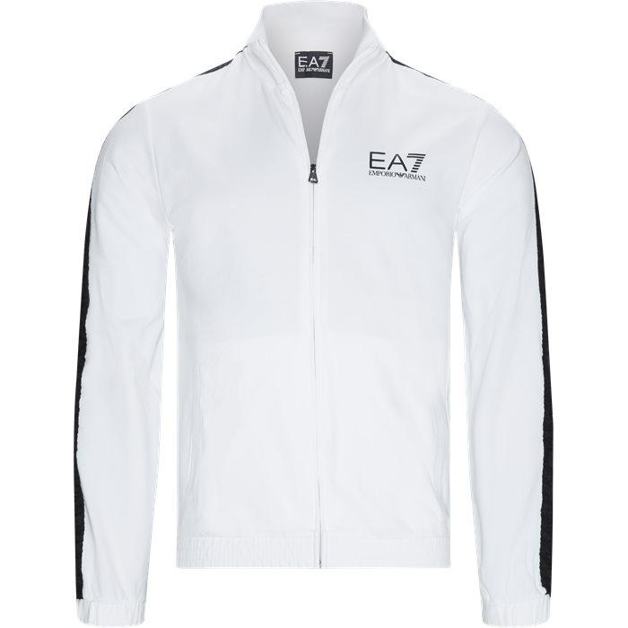PJ05Z Tracktop - Sweatshirts - Regular - Hvid
