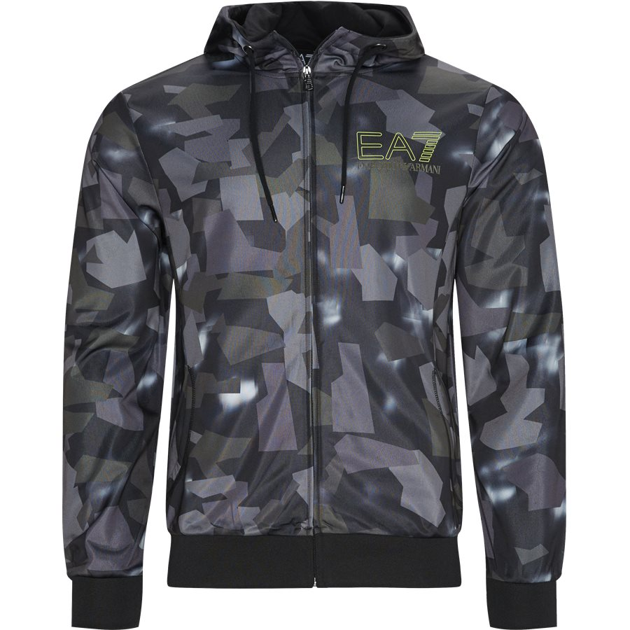 PJ08Z-3GPM28 - PJ08Z Zip-Hoodie - Sweatshirts - Regular - SORT - 1