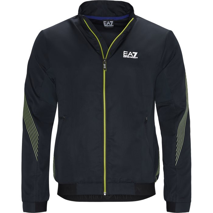 Track Jacket - Sweatshirts - Regular - Blå