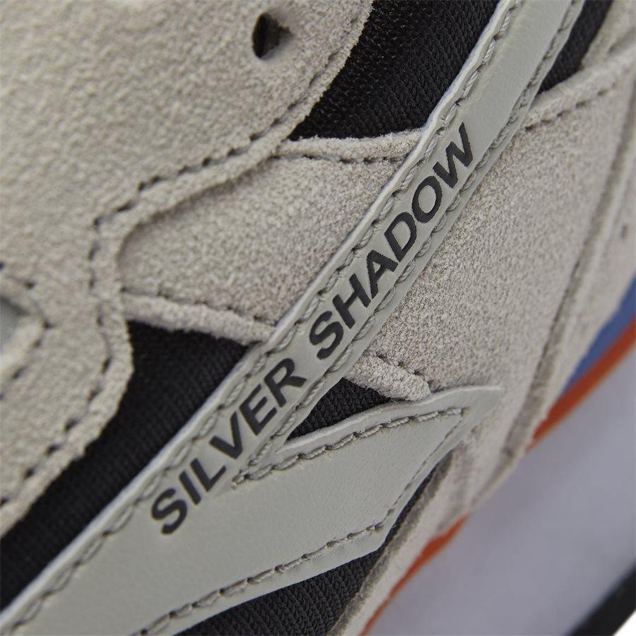 SILVER SHADOW - Silver Shadow - Sko - GRÅ/SORT/ORANGE - 10