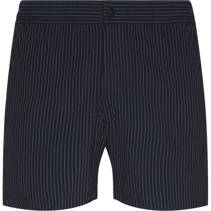 Create Shorts - Shorts - Straight fit - Blå