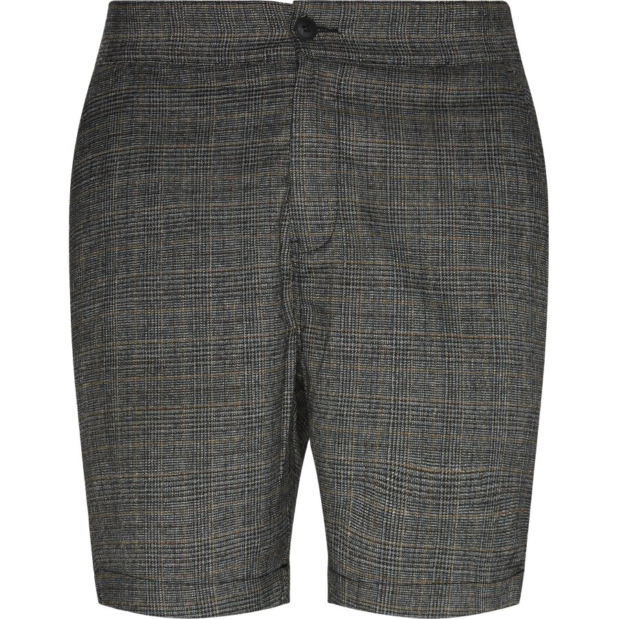 PRESS CHECK SHORTS - Press Check Shorts - Shorts - Straight fit - GRÅ - 1